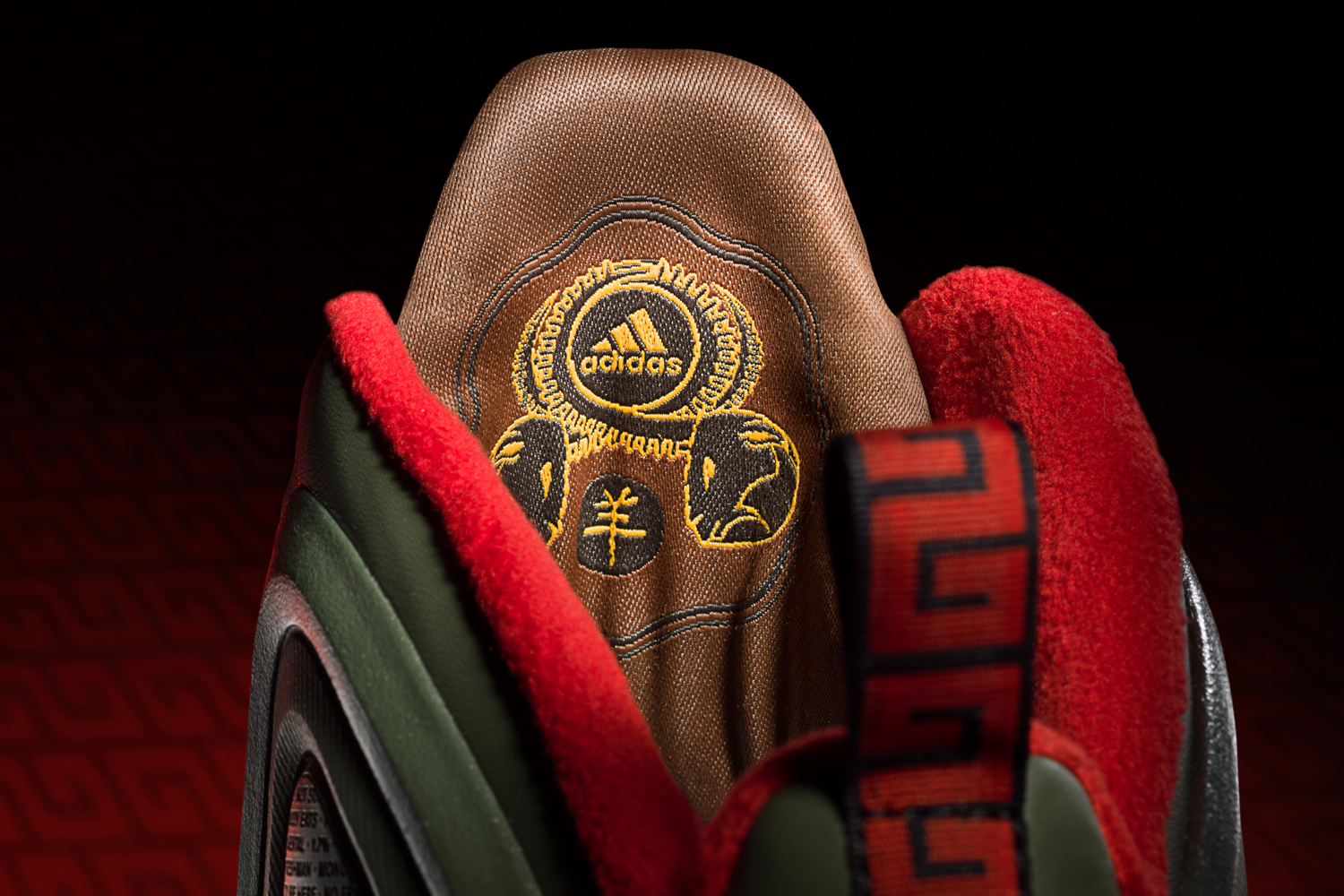 09a94959c1dd Adidas releases special edition D Rose 5s honoring Year of the Goat ...