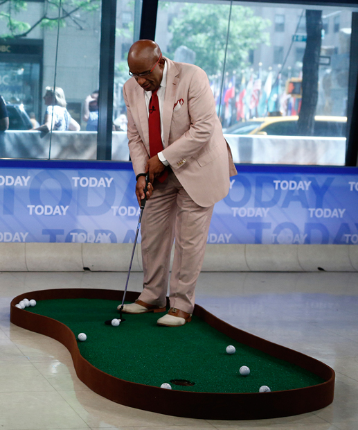 Al Roker gets in on the fun. (Getty Images)