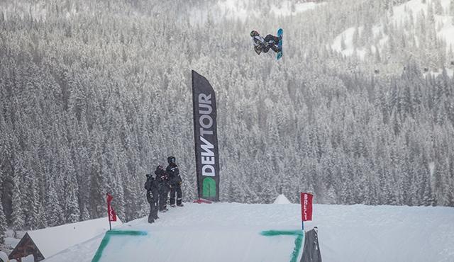 Aleksander Ostreng in the men's slopestyle finals.