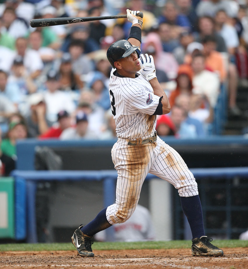 Only A-Rod, it seems, can beat A-Rod. After a monster 2007 season that resulted in his third AL MVP award, Rodriguez opted out of his record $252 million deal with three years remaining. He eventually wound up back with the Yankees, setting a new record (at the time) for the richest contract in baseball history, one that included potential bonuses for reaching certain milestones.
