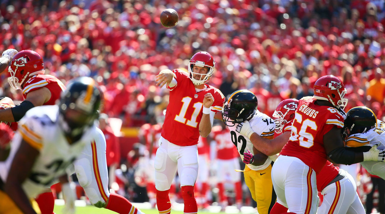 The Chiefs' turnaround began with a 23-13 victory over Pittsburgh in Week 7; they haven't lost since.