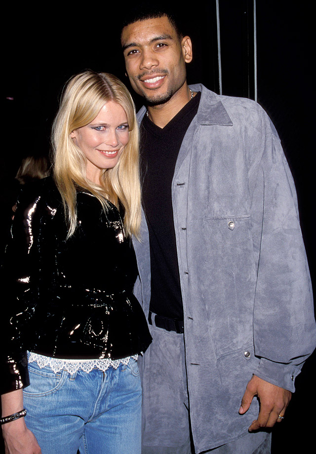 "The NBA sharpshooter made his silver screen debut in ""Blue Chips"" and returned to acting sporadically throughout his basketball career. In the 1999 film ""Black and White,"" Houston's girlfriend was played by Claudia Schiffer (left). Houston's final movie role came in 2004, a year before injuries forced him to retire from the NBA, when he played Adamo Shandela in the romantic comedy ""Laws of Attraction."""