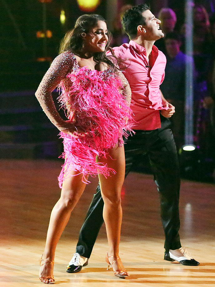 Olympic champion gymnast Aly Raisman finished in 4th place with dancing partner Mark Ballas in Season 16.