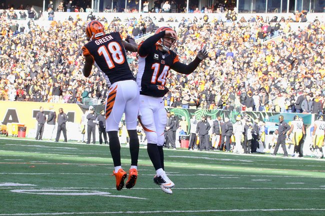 A.J Green and Dalton were taken in the 2011 draft with the hope of stabilizing a franchise that had enjoyed just one winning season in the previous five years.