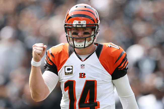 In his fifth NFL season, the often disparaged Andy Dalton is an MVP candidate who is among the league's top five in every relevant passing category.