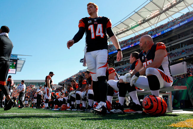 Dalton has left no doubt this season that the Bengals are finally his team.