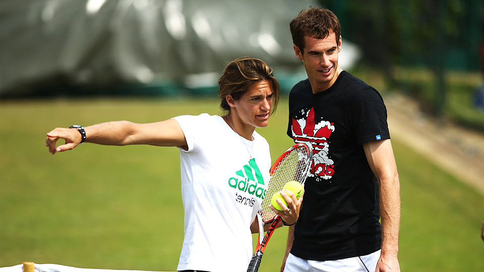 Andy Murray stirred up plenty of debate when he hired Amelie Mauresmo as his coach before Wimbledon, but so far, the partnership appears to be good.