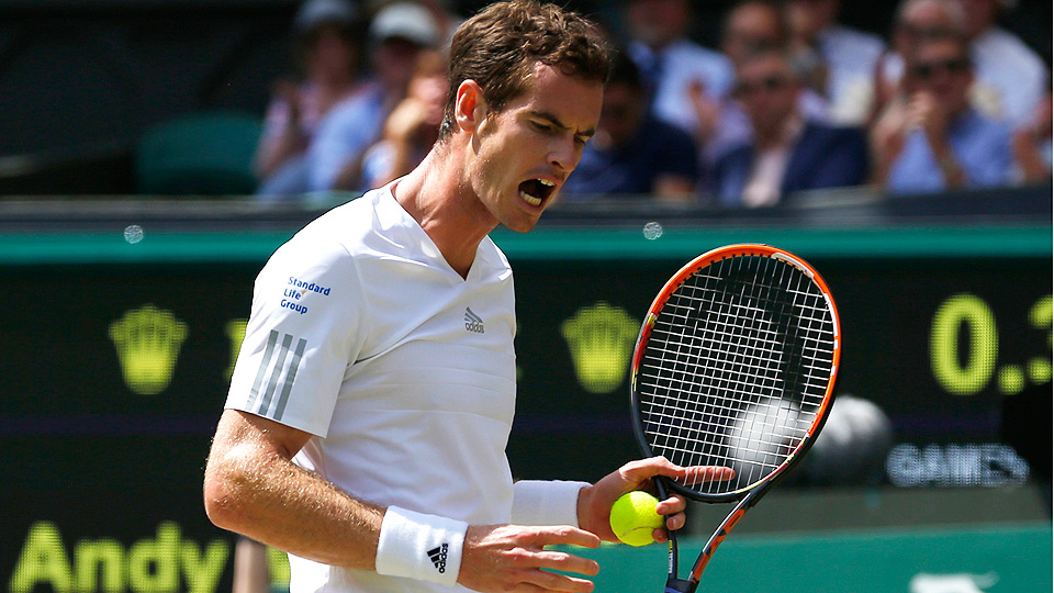 Andy Murray couldn't summon his best game against Grigor Dimitrov and fell in the Wimbledon quarterfinals.
