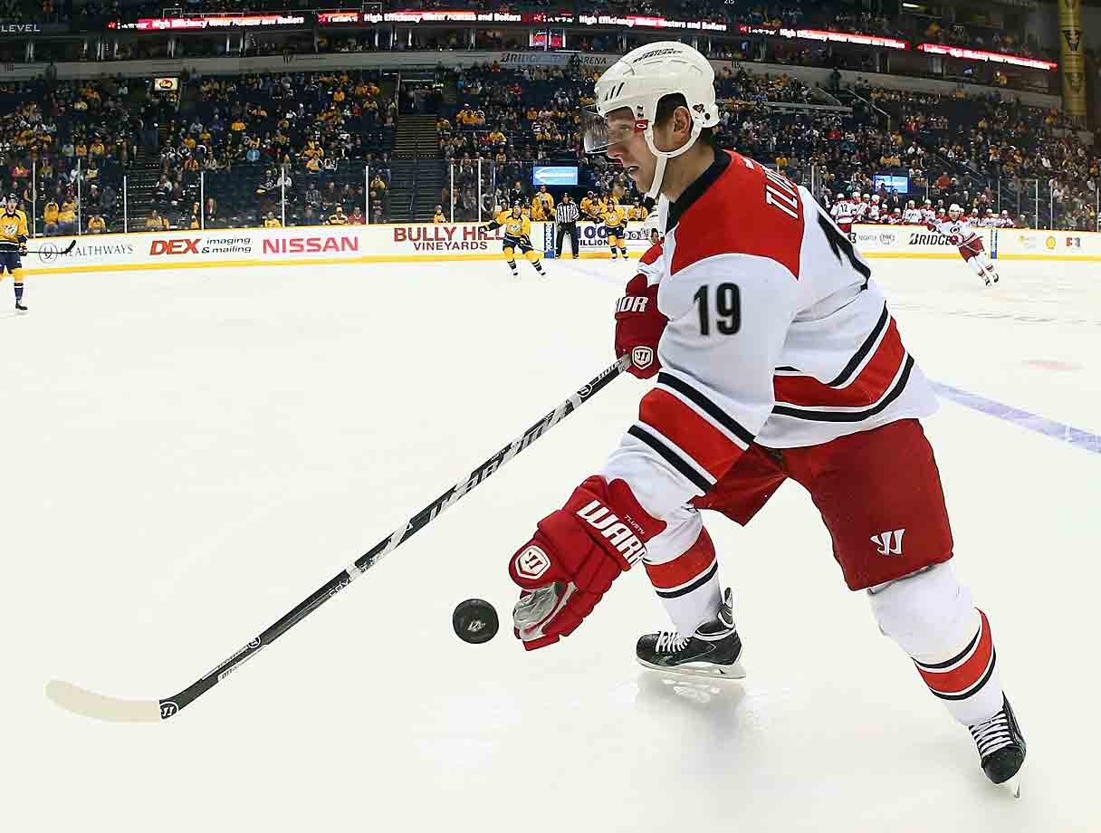 The Hurricanes forward needed an emergency procedure in late December was given the usual two to three week recovery period. He needed the full three.