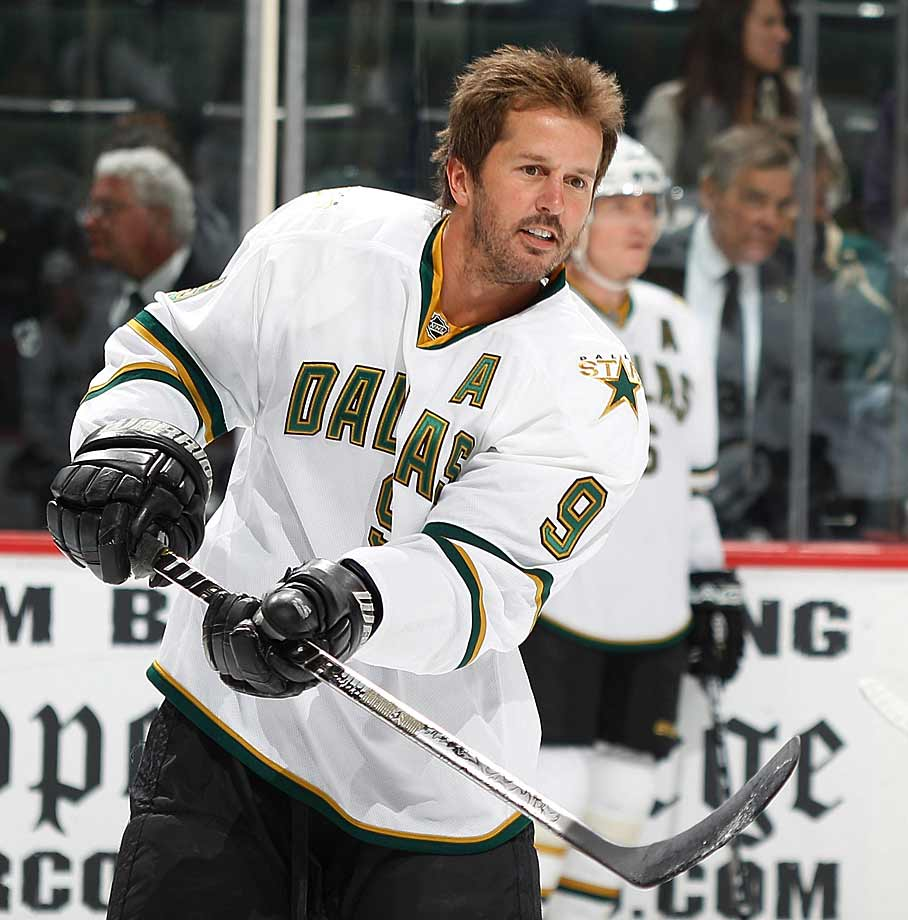 After the Stars' 39-year-old future Hall of Famer played eight painful minutes in a game vs. Colorado, it was feared that he would be sidelined indefinitely after surgery on March 15 and miss the rest of what would be his final season with Dallas. He made it back 19 days later and played in the Stars' final five regular season games.