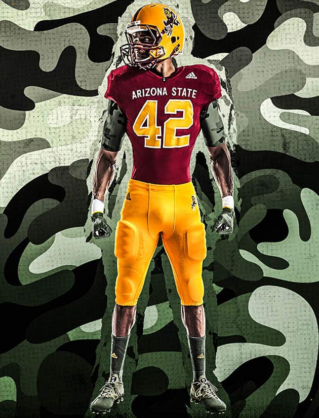 detailed look 605c2 324ce Arizona State football to honor Pat Tillman in alternate ...