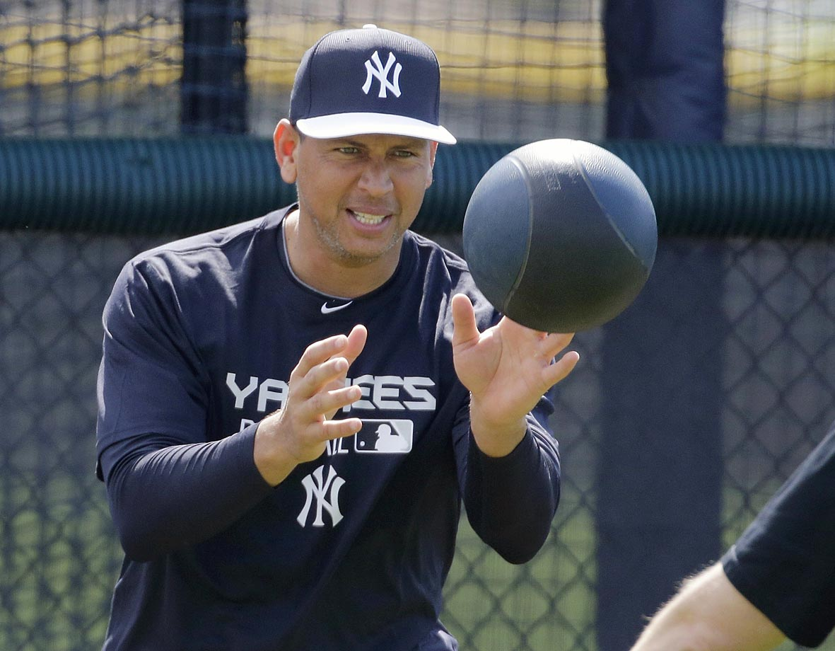 Surprise Surprise, A-Rod is back with the Yankees. The official full squad workouts begin Feb. 26.