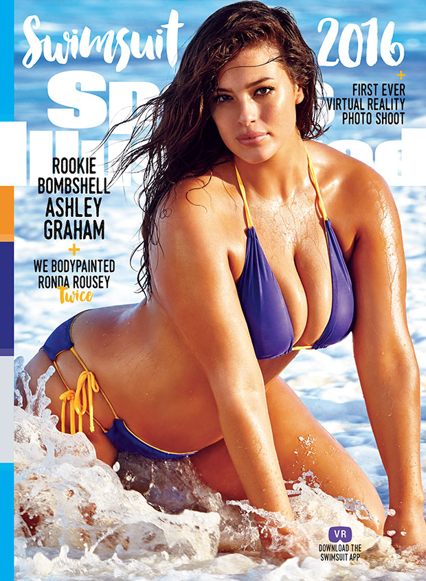 Image result for ashley graham sports illustrated cover