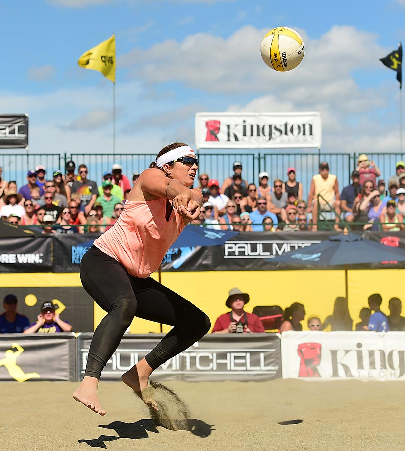 Misty May-Treanor  played for the first time since winning gold in London. Misty had 58 digs in nine games.