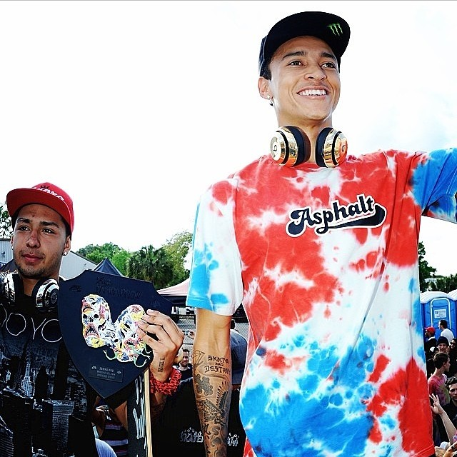 See what life is like for one of the hottest athletes in the world of skateboarding. Follow Nyjah Huston on Instagram @nyjah_huston.