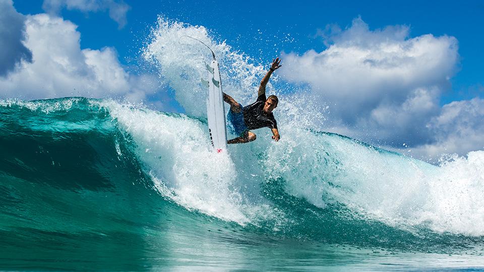Pro surfer Matt Banting