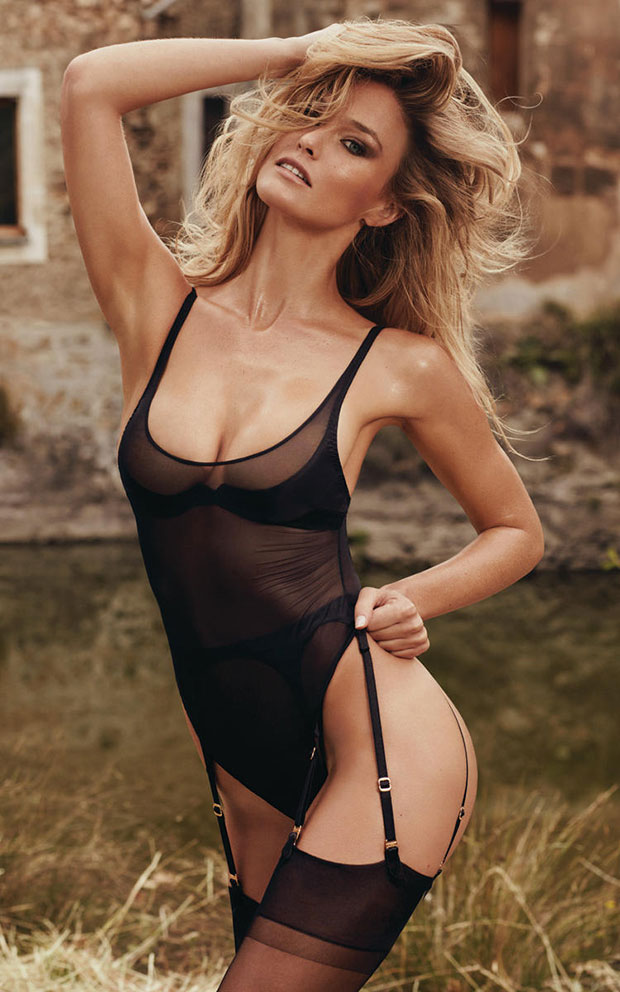 Bar refaeli agent provocateur ss16