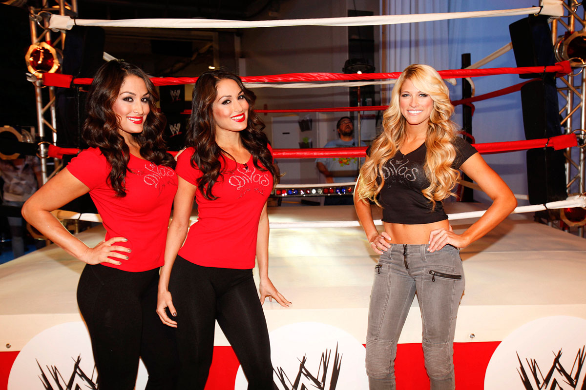 Barbie Blank and The Bella Twins:: Getty Images