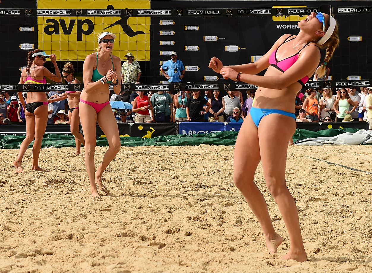 Walsh-Jennings and Ross claim another victim. They won every match en route to their eight straight AVP victory.