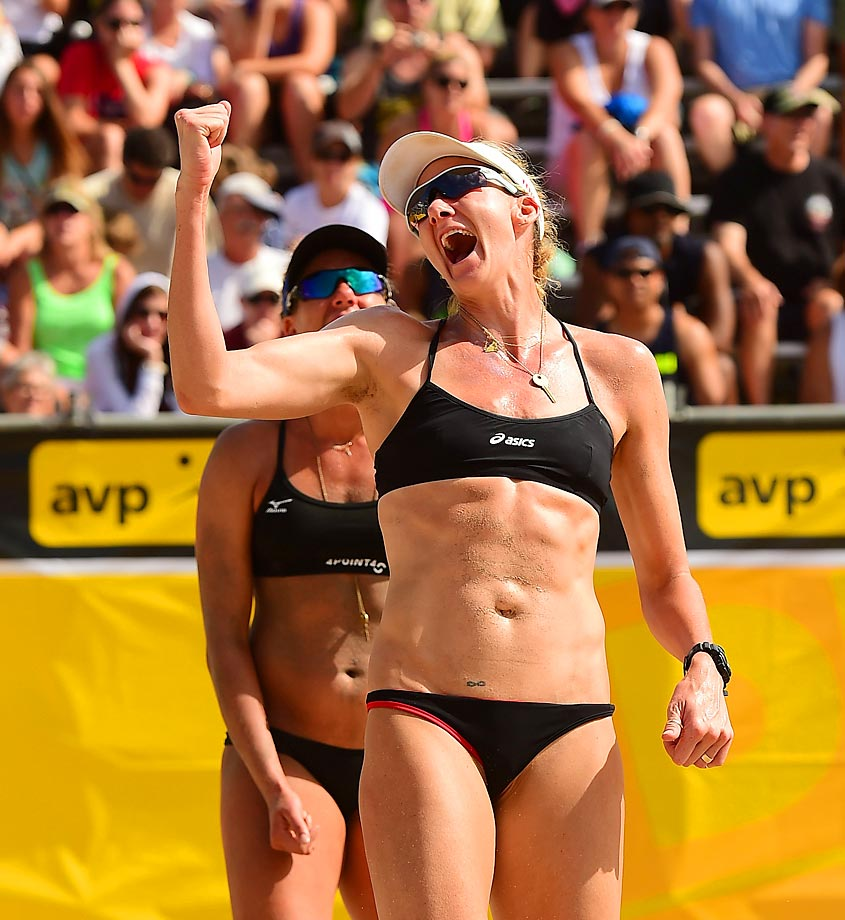 Kerri Walsh-Jennings and April Ross won every AVP tournament this season.