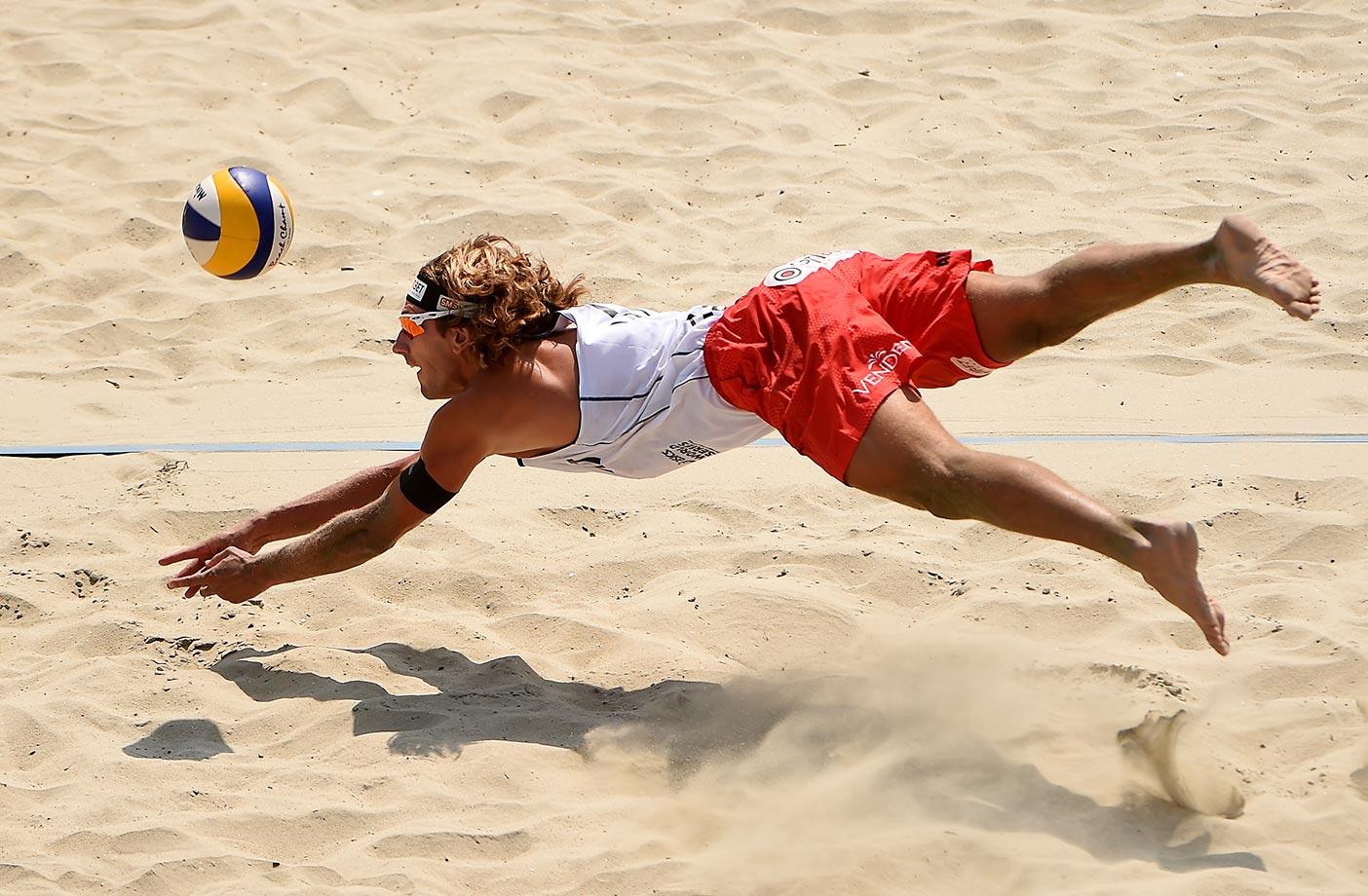 ASICS World Series of Beach Volleyball.