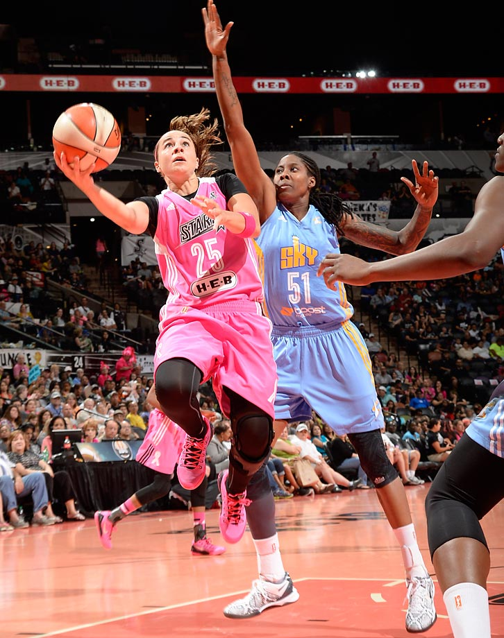Becky Hammon,  who was voted one of the 15 greatest players in WNBA history, has announced that she will hang it up at the end of the season.  Undrafted out of Colorado State, she immediately made an impact with the New York Liberty, earning the fans admiration  and respect.  Though she never won a title in 15 seasons, Hammon will now get the chance to do so as a coach in the NBA.  In August, the San Antonio Spurs made her the first full-time female coach in any of the four major sports, a distinction whose significance was not lost on basketball fans of all ages, genders, creeds and colors.