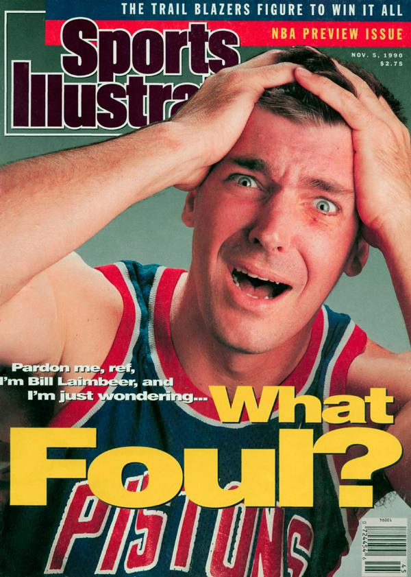 Bill Laimbeer :: Theo Westenberger/SI