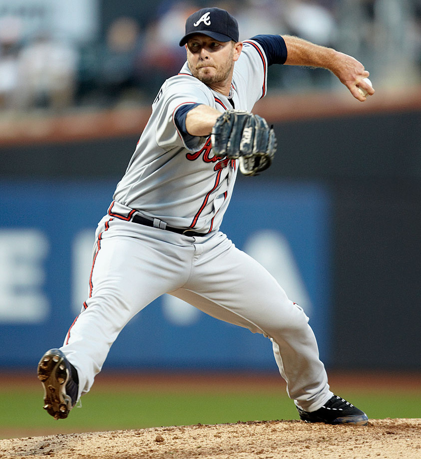 Wagner was a 37-year-old, six-time All-Star closer when he had Tommy John surgery in 2008. He returned at the end of the 2009 season and posted a 1.72 ERA in 17 games for the Mets and Red Sox before joining the Braves for the 2010 season. In what would be his final year in the bigs, Wagner saved 37 games, posted a 1.43 ERA and made his seventh All-Star team.