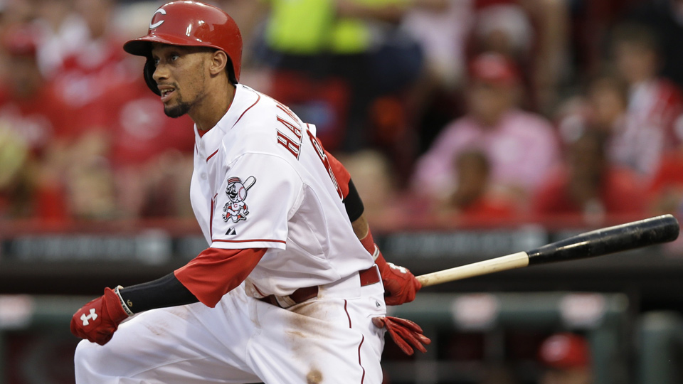 Billy Hamilton has bumped his season line up to .277/.313/.400 through 66 games.