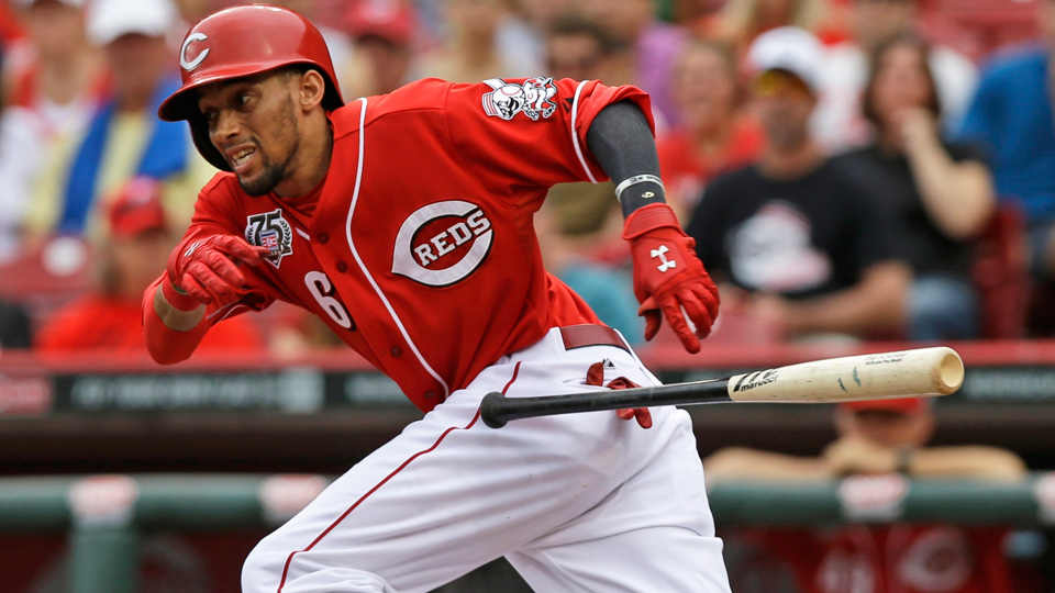 Injuries to his nearest pursuers have given Cincinnati's Billy Hamilton the chance to pull away from the rest of the National League rookie field.