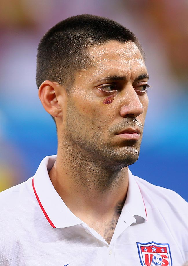 Clint Dempsey of the United States at the 2014 World Cup in Brazil.