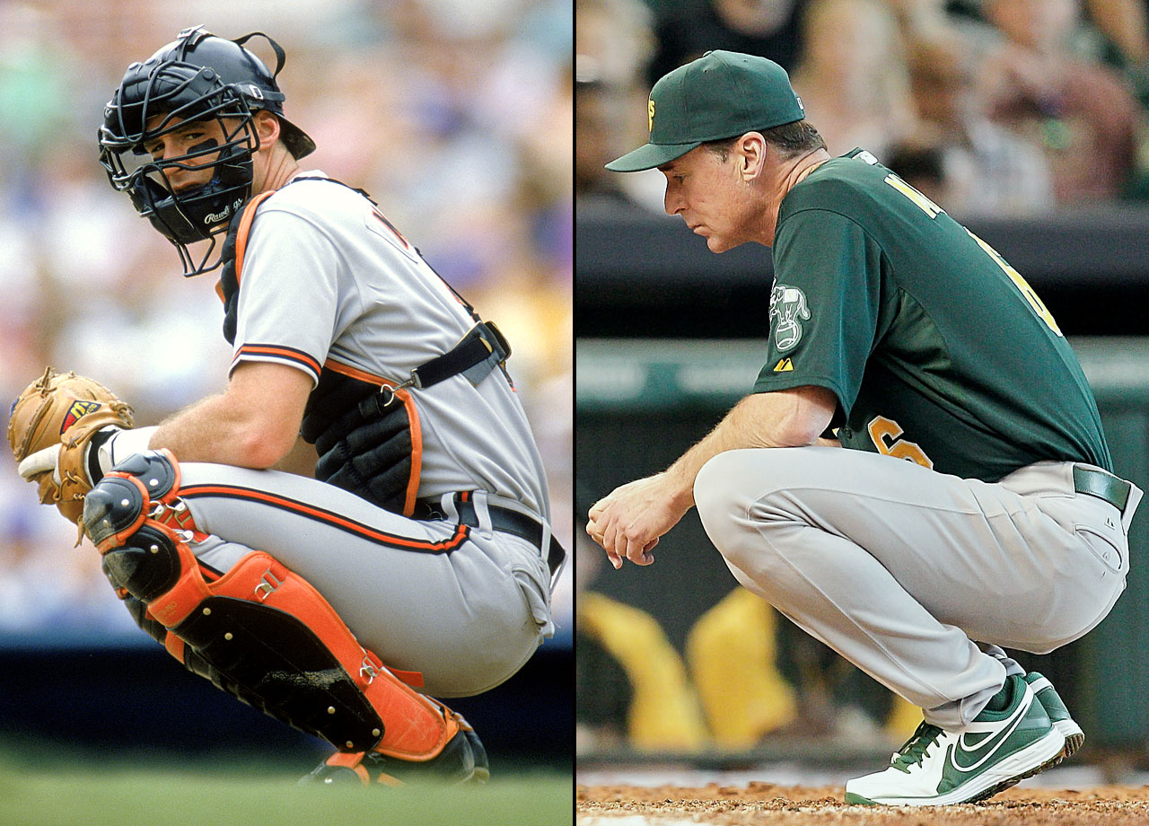 A journeyman big leaguer, Bob Melvin played for seven teams during his 10-year major league catching career. He has also been something of a journeyman as a manager, coaching three teams so far. After managing the Seattle Mariners for two seasons starting in 2003, Melvin led the Arizona Diamondbacks for five seasons. Since 2011, he has managed the Oakland A's, leading them to playoff appearances in 2012, '13 and '14.