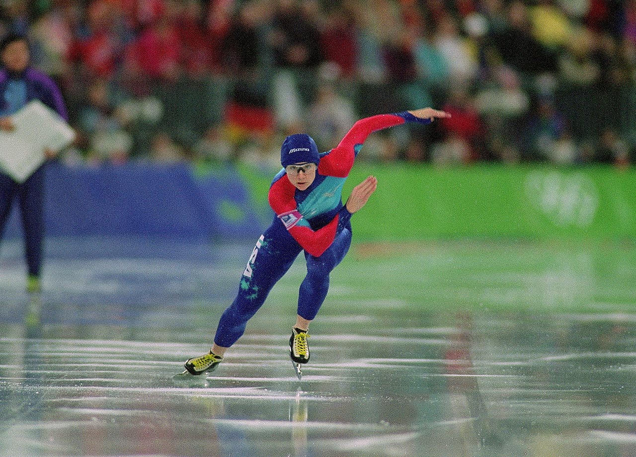 "Perhaps the greatest female speed skating sprinter ever, Bonnie Blair took three consecutive gold medals in the 500-meter between 1988 and 1993; an extremely tough ""triple"" to pull off. She was the only American Winter Olympian with six medals until Apolo Ohno came along. The longtime Milwaukee resident thrived on the Olympic stage, probably due to the fact that she began competing at just four years old! -- Brian Pinelli  (SEE THE COMPLETE LIST OF 50 AT THEACTIVETIMES.COM)"