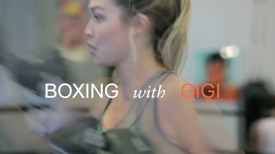 """Box Like a Supermodel: Inside Gigi Hadid's Body-Sculpting Workout"""