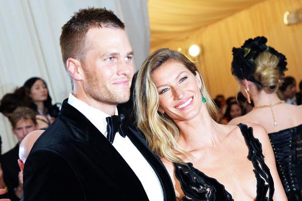 Tom Brady and Gisele Bundchen :: Getty Images