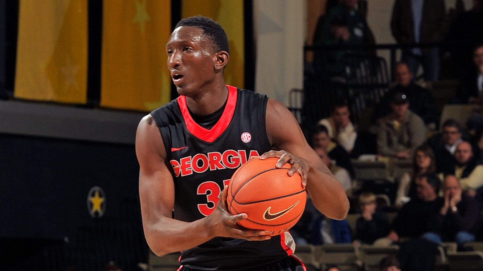 Brandon Morris kicked off Georgia basketball team