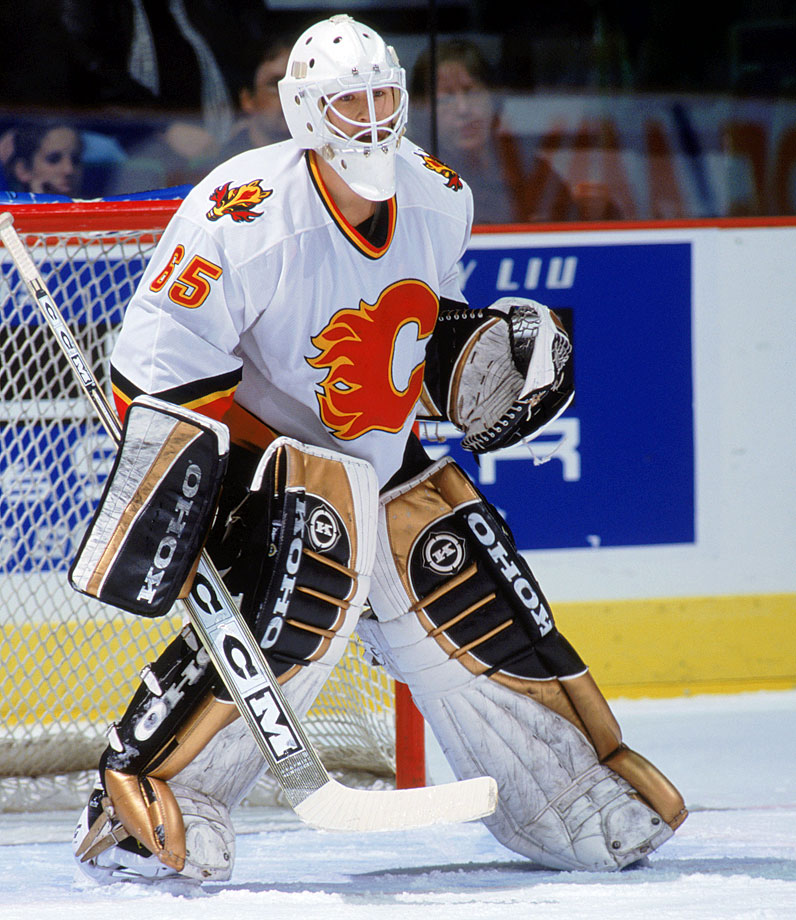 The Flames' No. 9 pick battled a recurring knee injury and did not reach the NHL until 2009. By then he'd been let go by Calgary and picked up as a free agent by Dallas for whom he appeared in all of one game, and that was in relief. He then spent the remaining two years of his pro career with the Stars' AHL affiliate.