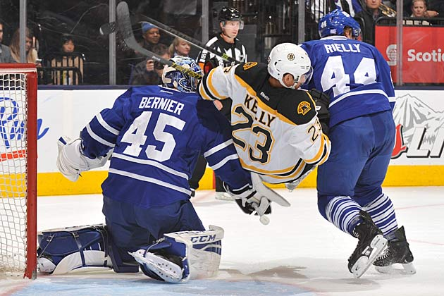 It's been a rough start for the Bruins and a frustrating time for the Maple Leafs.