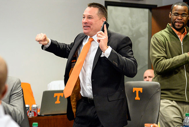 Since taking over at Tennessee, Butch Jones has worked to repair relationships with local high schools.