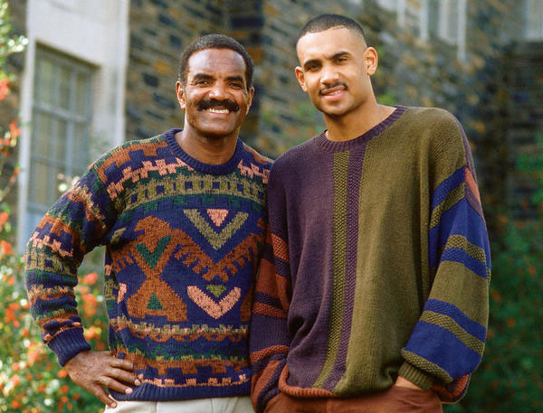 Calvin and Grant Hill :: SI