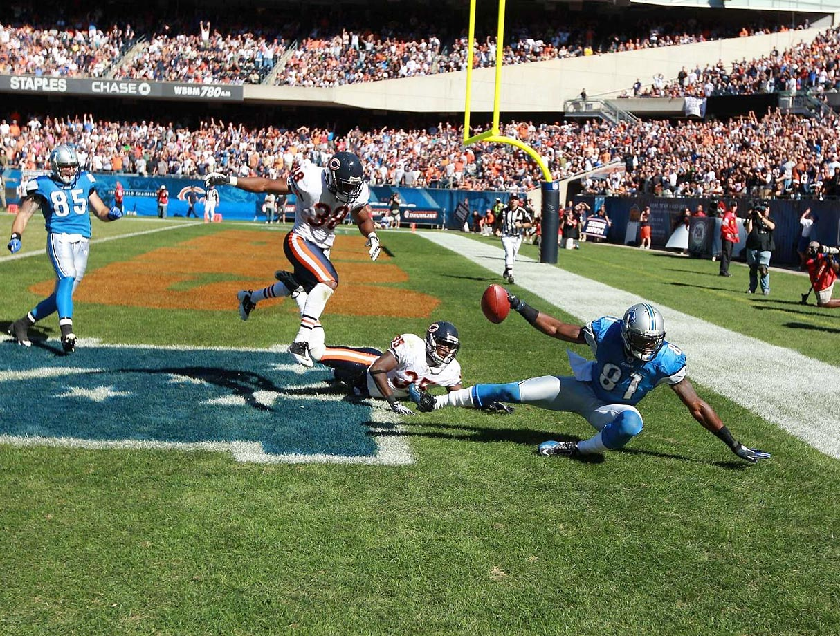 A receiver must maintain possession of the football throughout the completion of the play. In Calvin Johnson's case, the ball moved enough when he hit the ground that officials ruled he hadn't maintained possession.