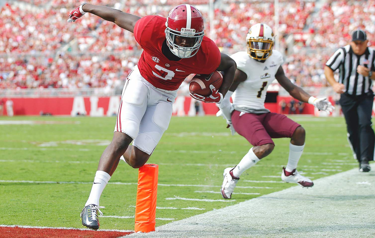 Alabama 34, Louisiana Monroe 0: Despite a relatively sluggish offensive performance (just 166 yards passing and 3.9 yards per carry), the Crimson Tide easily put away the Warhawks to rebound from their loss to Ole Miss.
