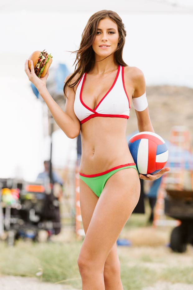 Alejandra Guilmant :: Courtesy of Carl's Jr.