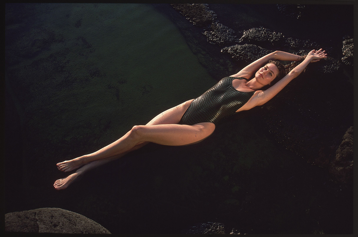 Carol Alt in Hawaii, SI Swimsuit 1989
