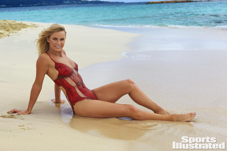 Caroline wozniacki amp lindsey vonn naked bodypaint 4