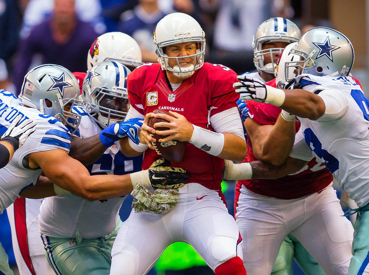 Carson Palmer and the Cardinals defeated the Cowboys 28-17 to improve to an NFC-best 7-1.