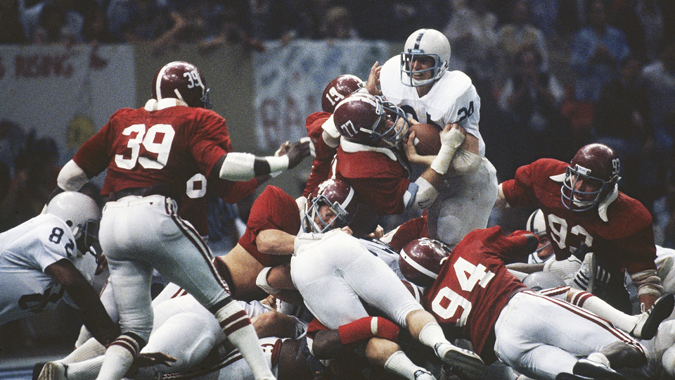 Alabama beat Penn State in the 1978 Sugar Bowl.