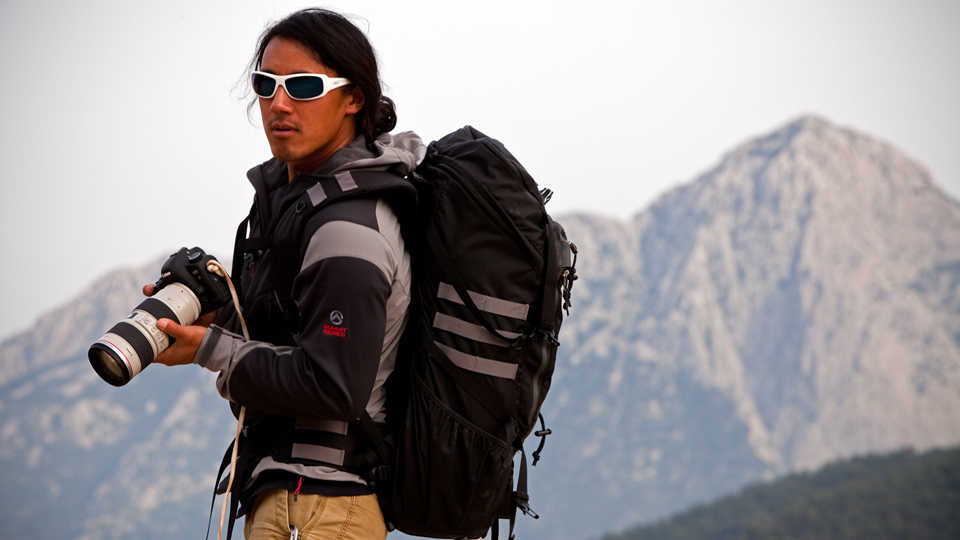 Already pushing the boundaries of human mortality, the 40-year-old photographer, filmmaker, professional skier and climber insists that there's still more that can and will be done in the realm of outdoor expeditions.