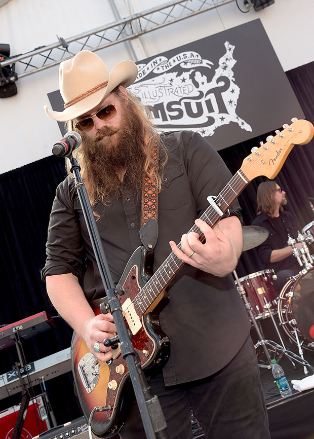Chris Stapleton at SwimVille