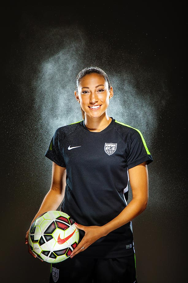 competitive price 0d79d dab68 Christen Press: USA forward set to break out in Women's ...